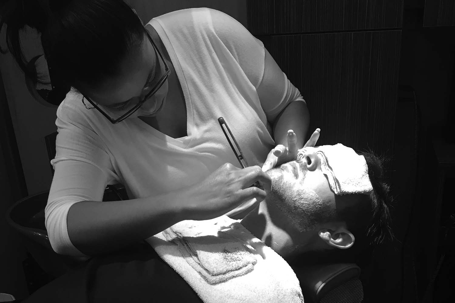 Weldon Barber Services Shave